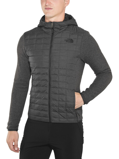 The North Face M's Thermoball Gordon Lyons Hoodie Jacket TNF black/TNF Dark Grey Heather